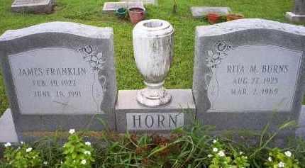 BURNS HORN, RITA M. - Ross County, Ohio | RITA M. BURNS HORN - Ohio Gravestone Photos