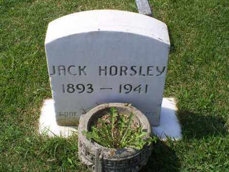 HORSLEY, JACK - Ross County, Ohio | JACK HORSLEY - Ohio Gravestone Photos