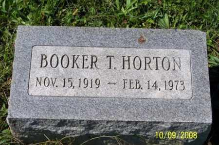 HORTON, BOOKER T. - Ross County, Ohio | BOOKER T. HORTON - Ohio Gravestone Photos