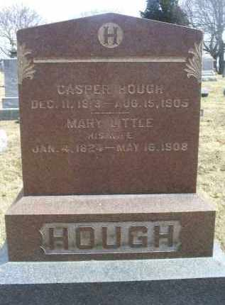 HOUGH, MARY - Ross County, Ohio | MARY HOUGH - Ohio Gravestone Photos
