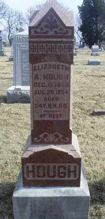 HOUGH, ELIZABETH A. - Ross County, Ohio | ELIZABETH A. HOUGH - Ohio Gravestone Photos