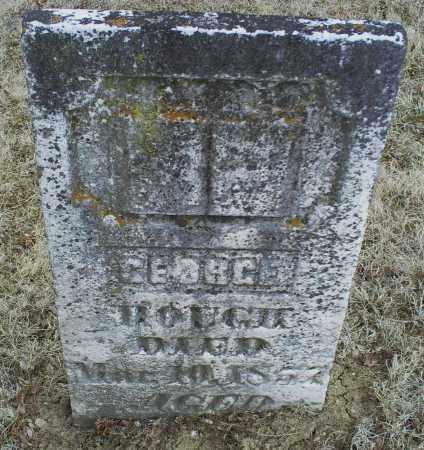 HOUGH, GEORGE - Ross County, Ohio | GEORGE HOUGH - Ohio Gravestone Photos