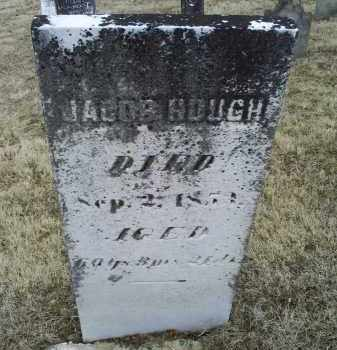 HOUGH, JACOB - Ross County, Ohio | JACOB HOUGH - Ohio Gravestone Photos