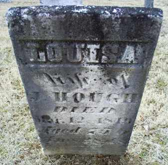 HOUGH, LOUISA - Ross County, Ohio | LOUISA HOUGH - Ohio Gravestone Photos