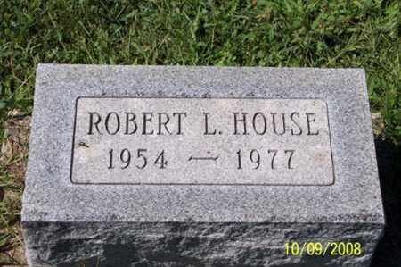 HOUSE, ROBERT L. - Ross County, Ohio | ROBERT L. HOUSE - Ohio Gravestone Photos