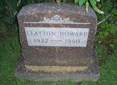 HOWARD, CLAYTON - Ross County, Ohio | CLAYTON HOWARD - Ohio Gravestone Photos