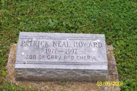 HOWARD, PATRICK NEAL - Ross County, Ohio | PATRICK NEAL HOWARD - Ohio Gravestone Photos