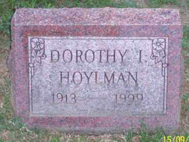 HOYLMAN, DOROTHY I. - Ross County, Ohio | DOROTHY I. HOYLMAN - Ohio Gravestone Photos
