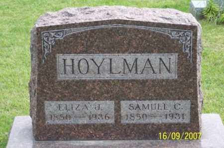 HOYLMAN, ELIZA J. - Ross County, Ohio | ELIZA J. HOYLMAN - Ohio Gravestone Photos
