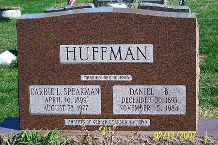 SPEAKMAN HUFFMAN, CARRIE L. - Ross County, Ohio | CARRIE L. SPEAKMAN HUFFMAN - Ohio Gravestone Photos