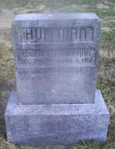 HUFFMAN, EDWARD O. - Ross County, Ohio | EDWARD O. HUFFMAN - Ohio Gravestone Photos