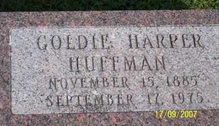 HARPER HUFFMAN, GOLDIE - Ross County, Ohio | GOLDIE HARPER HUFFMAN - Ohio Gravestone Photos