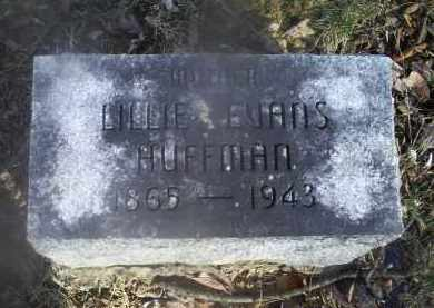 HUFFMAN, LILLIE - Ross County, Ohio | LILLIE HUFFMAN - Ohio Gravestone Photos