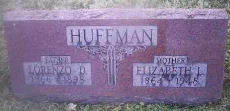 HUFFMAN, LORENZO D. - Ross County, Ohio | LORENZO D. HUFFMAN - Ohio Gravestone Photos