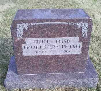 MCCOLLISTER, MINNIE - Ross County, Ohio | MINNIE MCCOLLISTER - Ohio Gravestone Photos