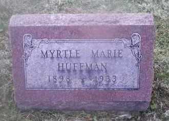 HUFFMAN, MYRTLE MARIE - Ross County, Ohio | MYRTLE MARIE HUFFMAN - Ohio Gravestone Photos