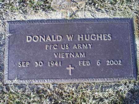 HUGHES, DONALD W. - Ross County, Ohio   DONALD W. HUGHES - Ohio Gravestone Photos