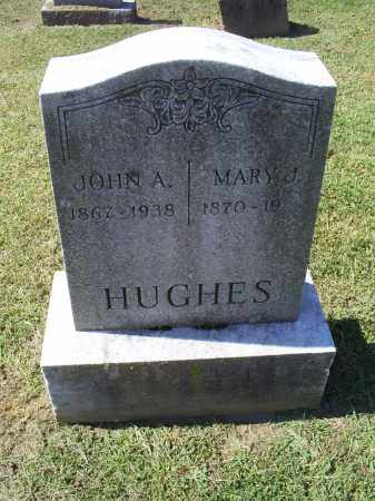 HUGHES, MARY J. - Ross County, Ohio | MARY J. HUGHES - Ohio Gravestone Photos