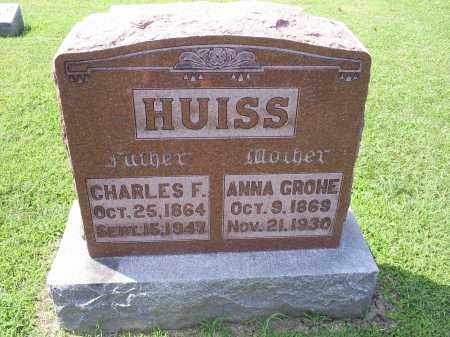 HUISS, CHARLES F. - Ross County, Ohio | CHARLES F. HUISS - Ohio Gravestone Photos