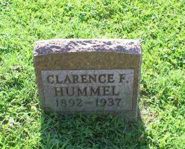 HUMMEL, CLARENCE F. - Ross County, Ohio | CLARENCE F. HUMMEL - Ohio Gravestone Photos