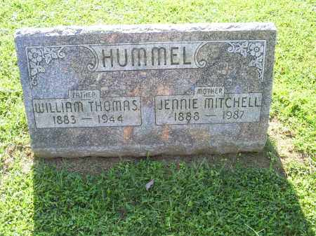 HUMMEL, JENNIE MITCHELL - Ross County, Ohio | JENNIE MITCHELL HUMMEL - Ohio Gravestone Photos