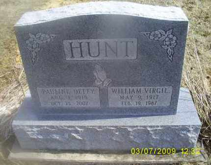 DETTY HUNT, PAULINE - Ross County, Ohio | PAULINE DETTY HUNT - Ohio Gravestone Photos