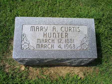 CURTIS HUNTER, MARY A. - Ross County, Ohio | MARY A. CURTIS HUNTER - Ohio Gravestone Photos