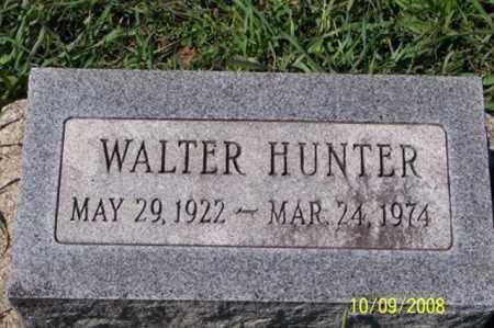 HUNTER, WALTER - Ross County, Ohio | WALTER HUNTER - Ohio Gravestone Photos