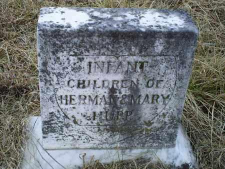 HUPP, INFANT CHILDREN - Ross County, Ohio | INFANT CHILDREN HUPP - Ohio Gravestone Photos