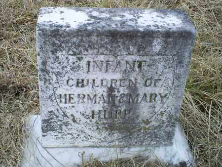 HUPP, INFANTS - Ross County, Ohio | INFANTS HUPP - Ohio Gravestone Photos