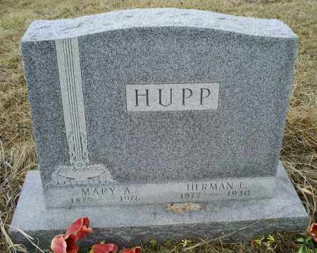 HUPP, HERMAN E. - Ross County, Ohio | HERMAN E. HUPP - Ohio Gravestone Photos