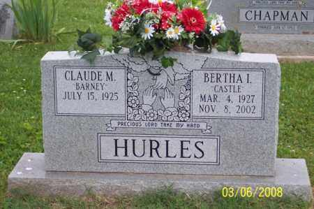 "HURLES, BERTHA I. ""CASTLE"" - Ross County, Ohio 