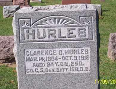 HURLES, CLARENCE D. - Ross County, Ohio | CLARENCE D. HURLES - Ohio Gravestone Photos