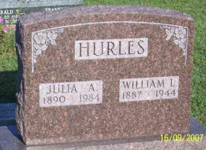 HURLES, WILLIAM L. - Ross County, Ohio | WILLIAM L. HURLES - Ohio Gravestone Photos