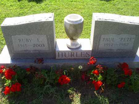 HURLES, RUBY E. - Ross County, Ohio | RUBY E. HURLES - Ohio Gravestone Photos