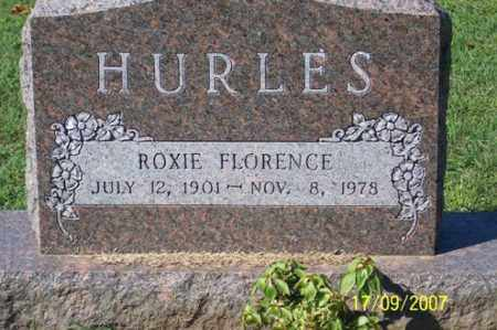 HURLES, ROXIE FLORENCE - Ross County, Ohio | ROXIE FLORENCE HURLES - Ohio Gravestone Photos