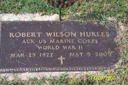 HURLES, ROBERT WILSON - Ross County, Ohio | ROBERT WILSON HURLES - Ohio Gravestone Photos