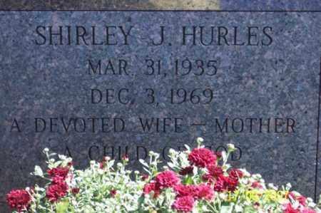 HURLES, SHIRLEY J. - Ross County, Ohio | SHIRLEY J. HURLES - Ohio Gravestone Photos