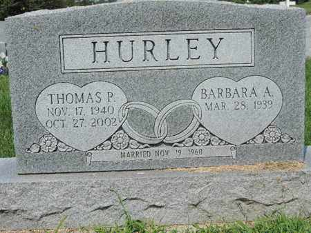 HURLEY, THOMAS P. - Ross County, Ohio | THOMAS P. HURLEY - Ohio Gravestone Photos