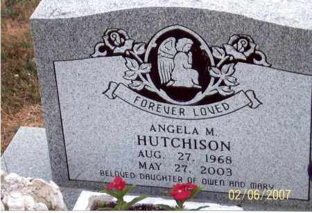 HUTCHISON, ANGELA M. - Ross County, Ohio | ANGELA M. HUTCHISON - Ohio Gravestone Photos