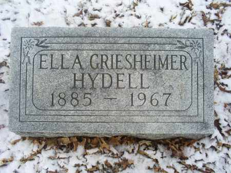 HYDELL, ELLA - Ross County, Ohio | ELLA HYDELL - Ohio Gravestone Photos