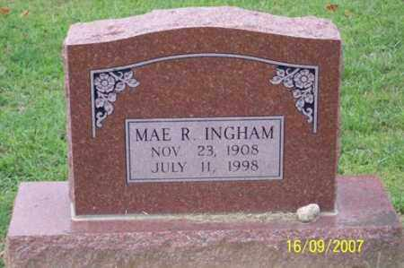 INGHAM, MAE R. - Ross County, Ohio | MAE R. INGHAM - Ohio Gravestone Photos