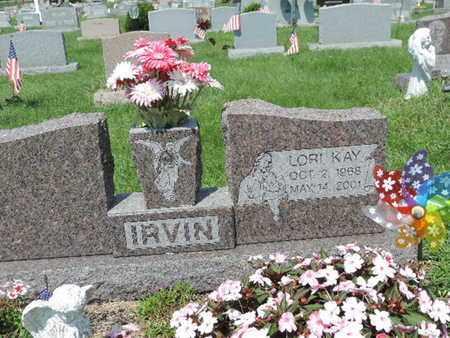 IRVIN, LORI KAY - Ross County, Ohio | LORI KAY IRVIN - Ohio Gravestone Photos