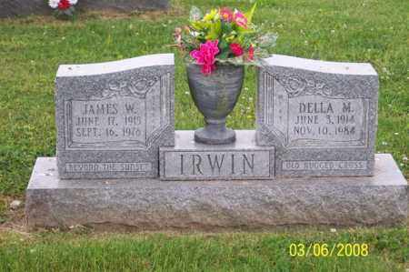 IRWIN, JAMES W. - Ross County, Ohio | JAMES W. IRWIN - Ohio Gravestone Photos