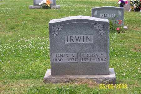 IRWIN, LOUISA M. - Ross County, Ohio | LOUISA M. IRWIN - Ohio Gravestone Photos
