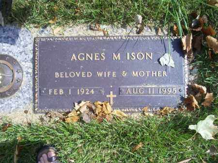 ISON, AGNES M. - Ross County, Ohio | AGNES M. ISON - Ohio Gravestone Photos