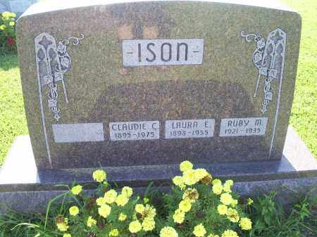 ISON, CLAUDIE C. - Ross County, Ohio | CLAUDIE C. ISON - Ohio Gravestone Photos