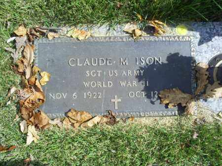 ISON, CLAUDE M. - Ross County, Ohio | CLAUDE M. ISON - Ohio Gravestone Photos