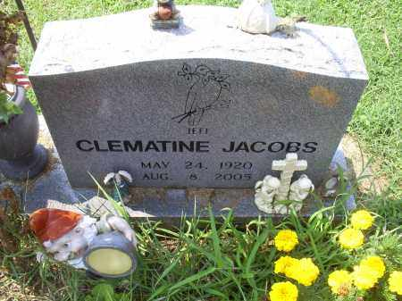 JACOBS, CLEMATINE - Ross County, Ohio | CLEMATINE JACOBS - Ohio Gravestone Photos