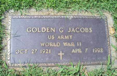 JACOBS, GOLDEN G. - Ross County, Ohio | GOLDEN G. JACOBS - Ohio Gravestone Photos